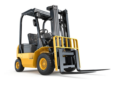Forklift in Industrial Supply Warehouse in St. Marys PA 15857